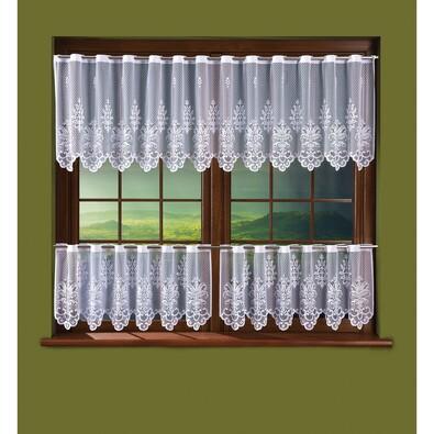 Záclona Kleopatra, 250 x 60 cm, 2 ks 125 x 45 cm