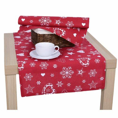 Vianočné prestieranie červená, 33 x 45 cm
