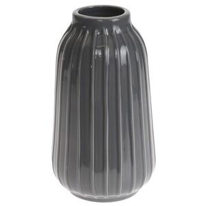 Elegantní váza Lily šedá, 18 cm