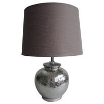 StarDeco Lampa stołowa srebrny, 45 cm