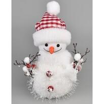 Vianočná dekorácia Bonhomme de neige, 23 cm