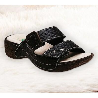 Dámské pantofle Santé , černá
