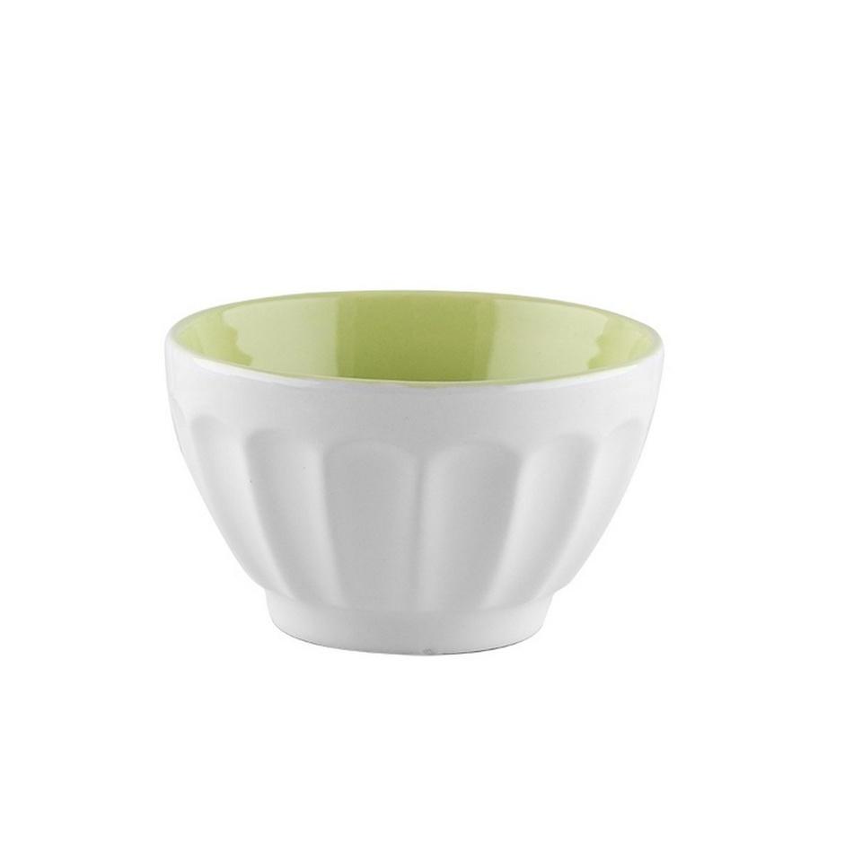 Florina Raňajková miska 14 cm, zelená,