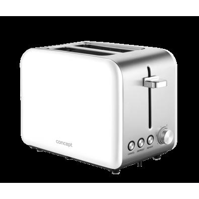 Toaster Concept TE2051, alb