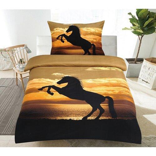 Obliečky Horse 3D, 140 x 200 cm, 70 x 90 cm