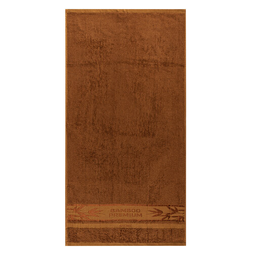 4Home Uterák Bamboo Premium hnedá, 50 x 100 cm
