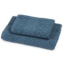Sada Rio ručník a osuška tmavě modrá, 50 x 100 cm, 70 x 140 cm