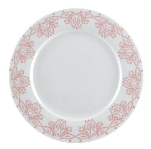 Florina Porcelánový plytký tanier Orient 27 cm, ružová