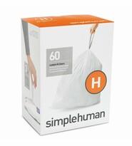 Simplehuman Saci pentru coșul de gunoi H 30-35 l, 60 buc.
