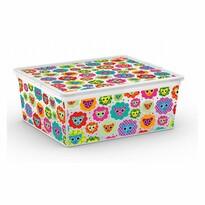 KIS Dekorační úložný box C Box Style Tender Zoo M, 18 l