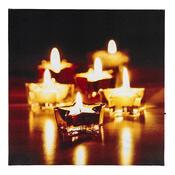 LED Obraz kouzlo Vánoc