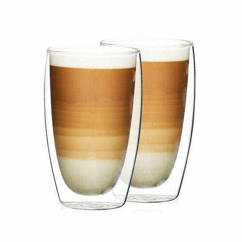 4Home Termo pohár na latté HotCool 410 ml, 2 ks