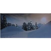 Koopman Rello LED vászon kép, 58 x 28 cm