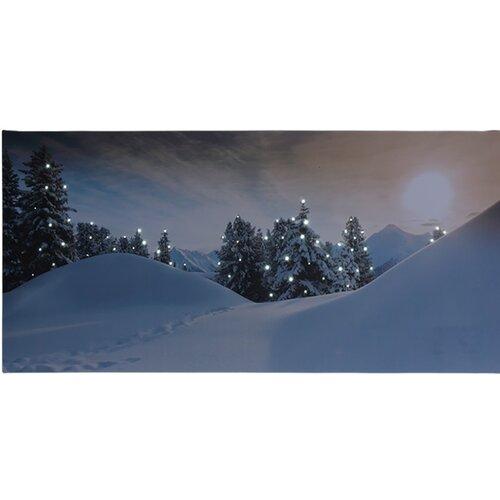 LED Obraz na plátne Rello, 58 x 28 cm