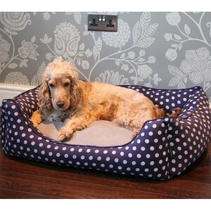 Pet Rebellion Pelíšek pro psa Dog Bed modrá, 80 cm, 80 cm