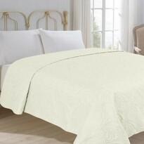 Prehoz na posteľ Alfa béžová, 220 x 240 cm