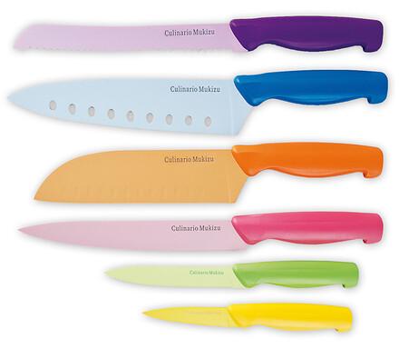 Mukizu Sada nožů 6 ks