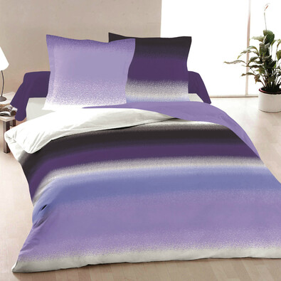 Bavlněné povlečení Purple Haze, 240 x 200 cm, 2 ks 70 x 90 cm