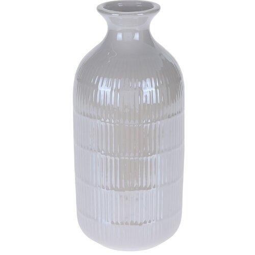Wazon Loarre biały, 10,5 x 22,5 cm