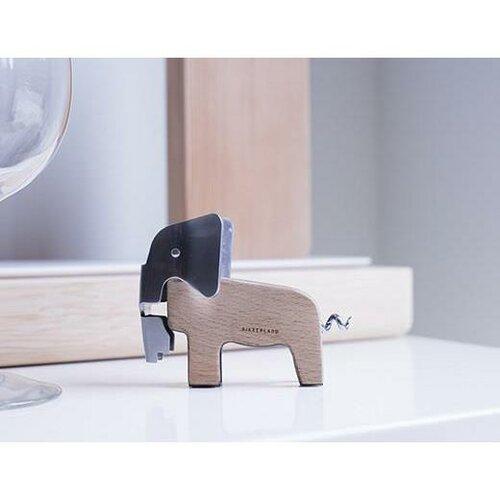 Designová vývrtka Slon, hnědá
