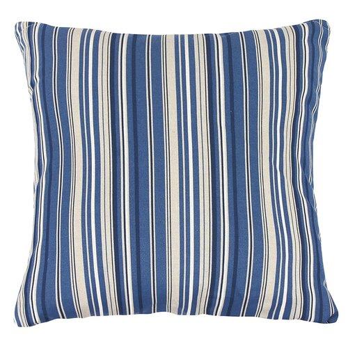Bellatex Vankúšik Ivo prúžok modrý, 45 x 45 cm