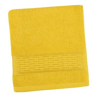 Kamilka Vonal törölköző sárga, 70 x 140 cm