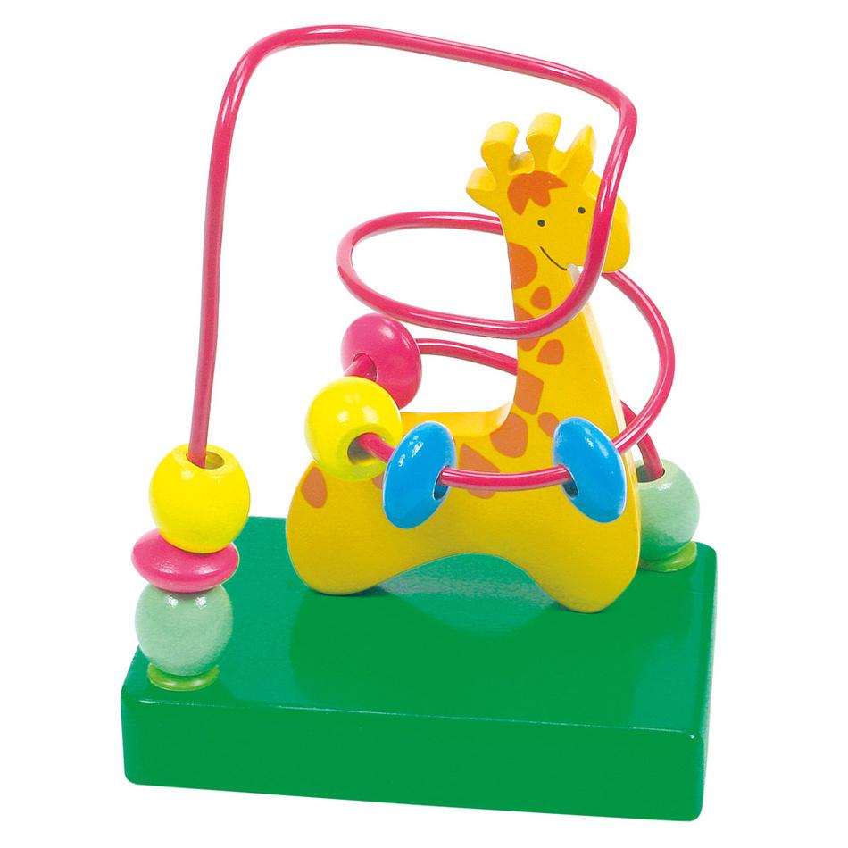 Produktové foto Bino Motorický labyrint - žirafa