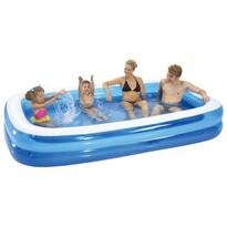 Nafukovací bazén obdélník, Vetro Plus, modrá, 262 x 175 x 51 cm