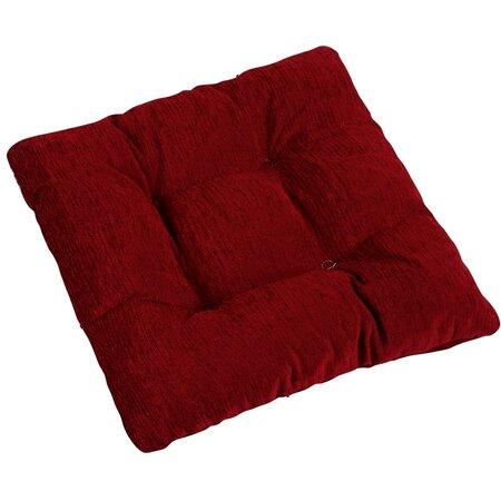 Pernă de scaun Janeta Burgundia, 40 x 40 cm