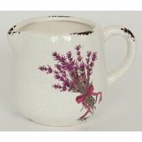 Keramický obal na květináč konev Melle, 14 cm,