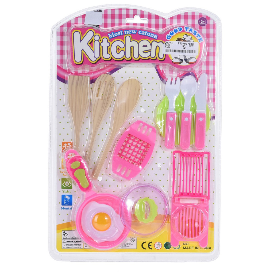 Dětský hrací set Food and kitchen Slicer, 12 ks