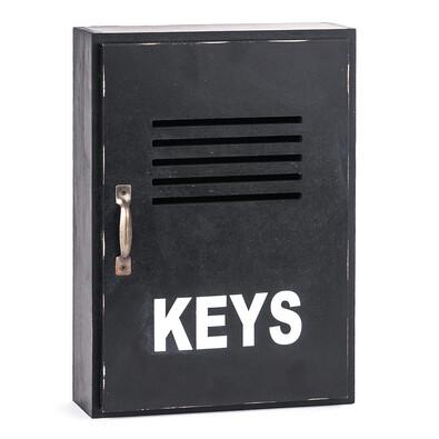 Skřínka na klíče černá