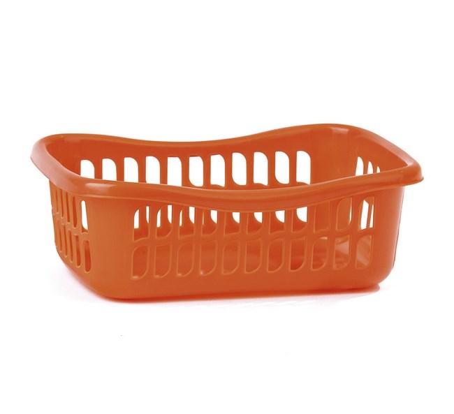 3dielna sada košíkov oranžová