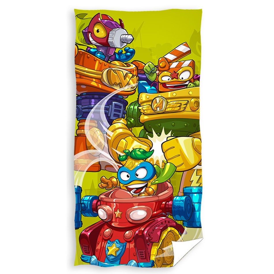 CARBOTEX Osuška Super Zings Robots, 70 x 140 cm