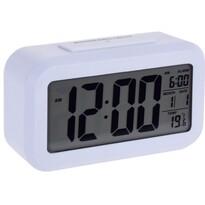 Stanley digitális ébresztőóra, 14 x 7 cm, fehér