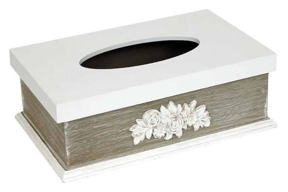 Krabička na kapesníčky s ornamentem
