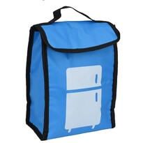 Geantă frigorifică Lunch break, albastru, 24 x 18,5 x 10 cm