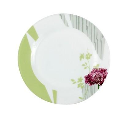 Dezertní talíř, 6 ks, vícebarevná, vícebarevná