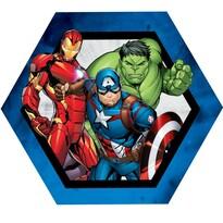 Poduszka profilowana Avengers group, 31 x 24 cm