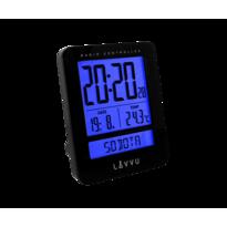 Budzik cyfrowy Lavvu Duo Black LAR0021, 9,2 cm