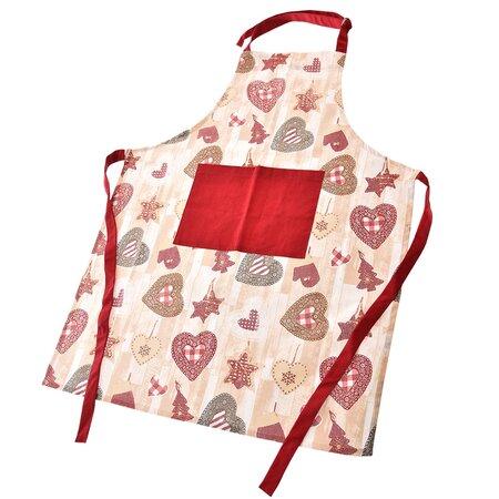 Șorț de bucătărie Heart, 70 x 85 cm