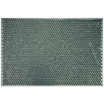 Gumová rohožka Emma šedá, 40 x 60 cm