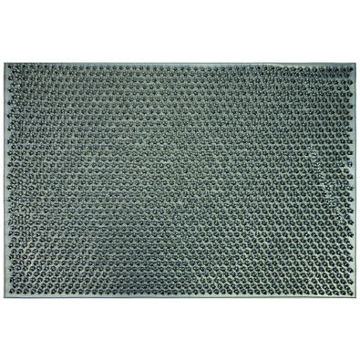Emma gumi lábtörlő, szürke, 40 x 60 cm