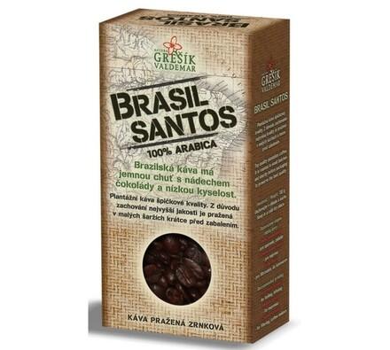 Grešík Brasil Santos káva 100g, černá