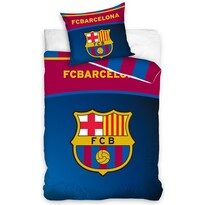 FC Barcelona Belt pamut ágynemű, 140 x 200 cm, 70 x 90 cm