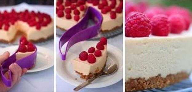 Dortové vykrajovátko Cake Server, fialové