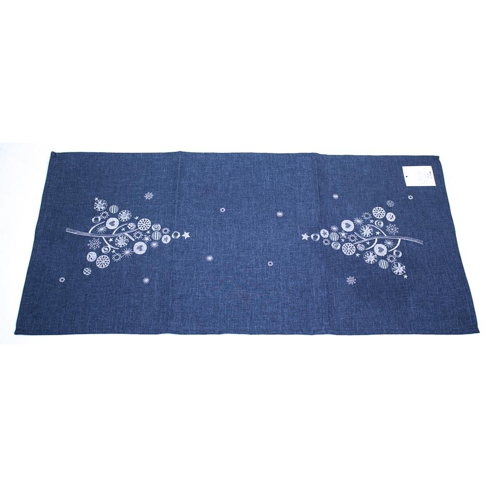 BO-MA Trading Vánoční běhoun s výšivkou, 40 x 140 cm