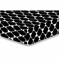 Cearșaf DecoKing Rhombuses, S2, 90 x 200 cm
