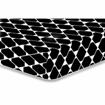 DecoKing Prześcieradło Rhombuses S2, 90 x 200 cm