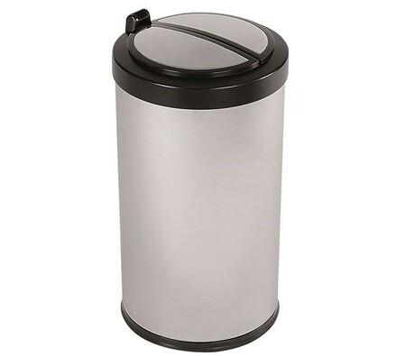 Helpmation MINI odpadkový koš 12l stříbrný